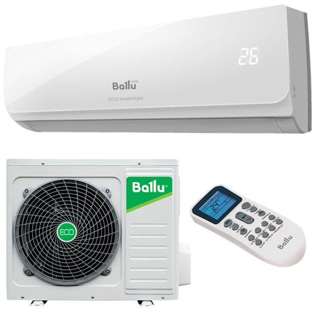 Инверторная сплит системаBallu BSWI-24HN1/EP/15Y серии ECO Inverter